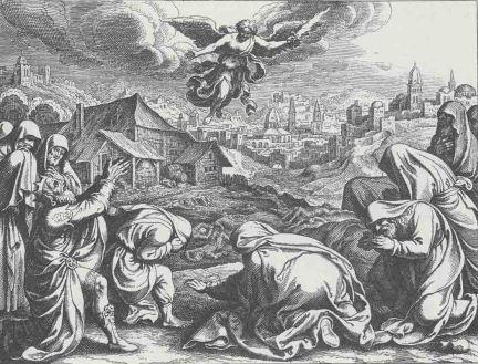 Bilderesultat for king david and the plague