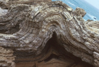 Image result for bent rock layers